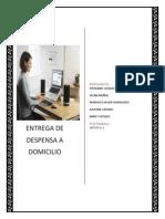 Protocolo Propuesta Entrega de Despensa a Domicilio