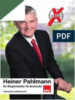 A0-Plakat Heiner Pahlmann