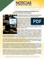 Uso de las TIC como herramienta de enseñanza-aprendizaje en los docentes del distrito de Barranquilla