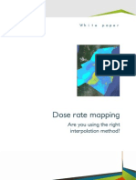 Geovariances WhitePaper Interpolation for Dose Rate Mapping