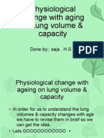 Physiological Change With Aging on Lung Volume &
