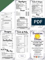 color menu m