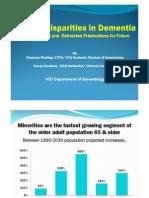 Health Disparities in Dementia4