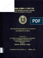 Ubicacion Optima de Banco de Capacitores-tesis