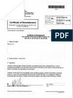 HPNN Reinstatement of Revocation in NV