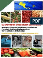 El Salvador Coyuntura Económica Primer Trimestre 2014