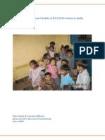 ECCD in India
