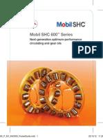 Mobil SHC 600 Pocket Gide