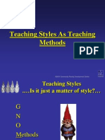 Teaching Styles 1