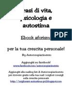 Morelli Raffaele - Frasi Di Psicologia Vita e Autostima