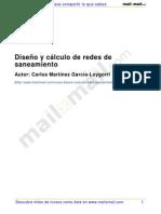 DISEÑO Y CALCULO DE REDES DE SANEAMIENTO