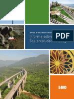 2013 Informe Sobre Sostenibilidad Del BID