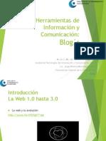 Presentación Blogs