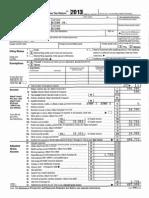 2013 Vpotus Tax Returns