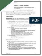 Derecho Laboral - Unidad 01