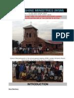 World Shine Ministries Kachumbala AGM 2014