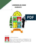 SAN JERÓNIMO DE TUNAN