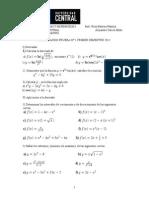 Preparacion Prueba 1 de Matematica