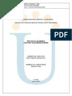 Protocolo CAD 2013