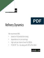 Refinery Scstrade Presentation