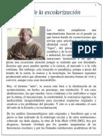 Los mitos de la escolarización - Juan Miguel Batalloso