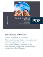 Cultural Considerations in Dementia Care