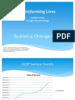 St. Vincent de Paul - Systemic Change Presentation