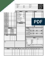 Shadowrun 3 Character Sheet 1.0