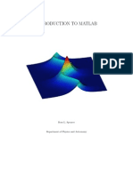 Introduction to Matlab Book