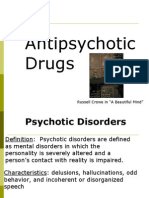 Lecture 4, Antipsychotics, Antidepressants