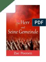 Der Herr und seine Gemeinde - Zac Poonen