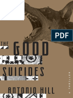 THE GOOD SUICIDES by Antonio Hill - Excerpt