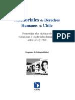 Memoriales de DDHH en Chile. FLACSO