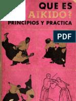 1963 Editorial Glem - Koichi Tohei - Qué es Aikido, Principios y práctica 2ª Edic. - 85p (D)