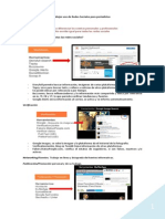 Mejor Uso de Redes Sociales Para Periodistas