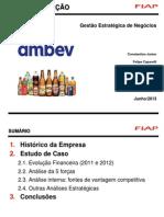 Trabalho AMBEV - Planejamento