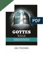 Gottes Wege erkennen - Zac Poonen