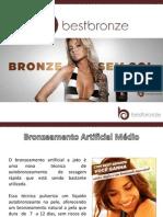 Best Bronze Bronzeamento Natural - Refil Bronzeamento Médio 50ml