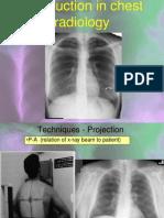 Chest Radiological Anatomy