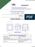 Online Faceting Designs & Diagrams_ Easy Emerald