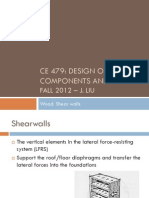 shear wall design