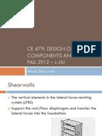 shear wall design