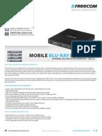 Datasheet Freecom Mobile Blu-RayReWriter ENG