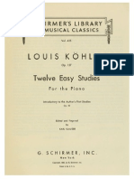 Kohler, Louis - 12 Easy Studies - Op. 157.pdf