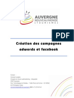 Creation Des Campagnes Adwords Et Facebook