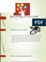 becoming a sous chef