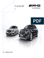 2015 S63 & S65 Ordering Guide