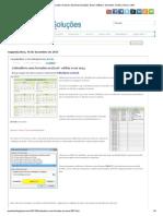 Calendário com Feriados no Excel _ Excelmax Soluções, Excel, Software, Simulador, Gráfico, Macro, VBA