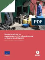 Market analysis for preparedness