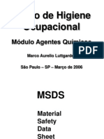 APOSTILA DO CURSO DE AGENTES QUÍMICOS E BIOLÓGICOS - SET 200